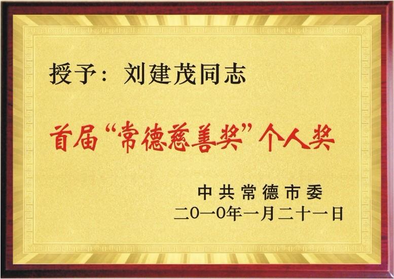 个人慈善奖